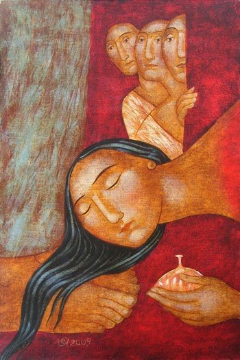 Love's Anointing — A Waking Heart