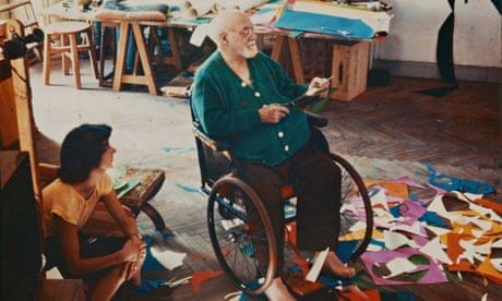 Henri Matisse: drawing with scissors | Art and design | The Guardian