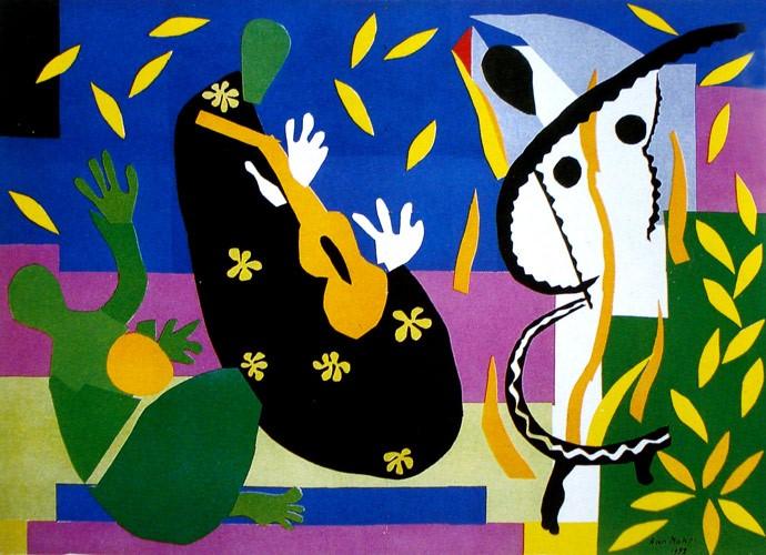 Henri Matisse. The cut-outs. Tate Modern de Londres.