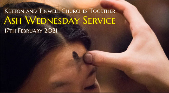 The Liturgy for Ash Wednesday