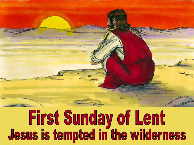 FIRST SUNDAY OF LENT – 21st February 2021