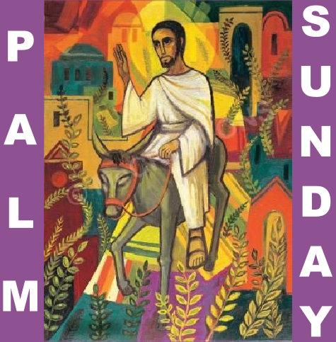 Palm Sunday Service 28th March 2021